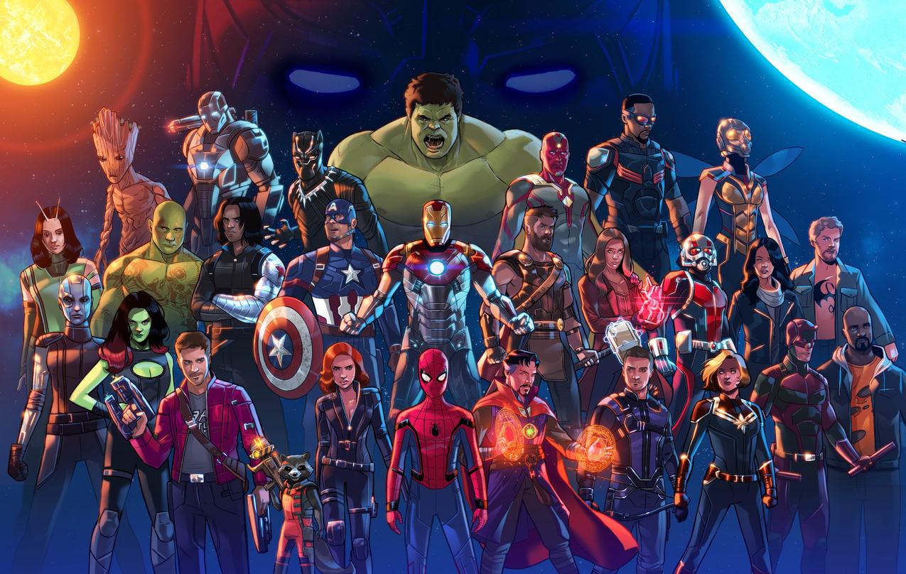 StephenByrne,BlackPanther,视觉,黑寡妇,斯佳丽女巫,DannyRand,LukeCage,MattMurdock,船长Maple,FANART,MarvelCinematicUniverse,Hulk,IronMan,Spider,Man,CaptainAmerica,守护星系,托尔,DrStrange,复仇者,Ant,Man,JessicaJones,复仇者