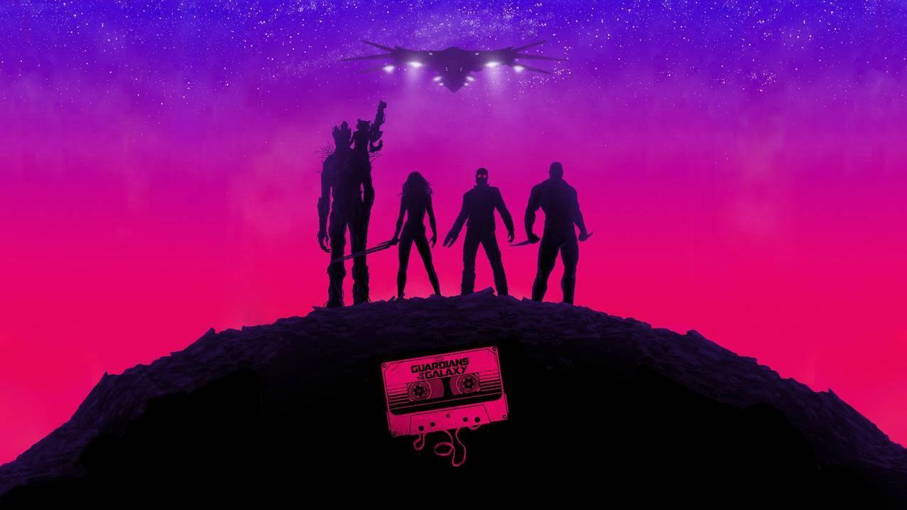星际守护者,银河系,奇迹,绘画,电影