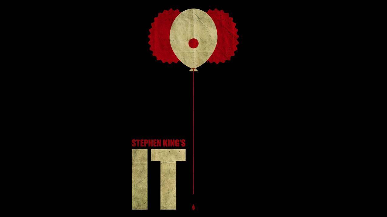 斯蒂芬金,小丑,艺术作品,电影,IT,电影,极简主义