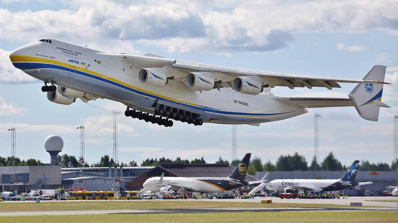 安东诺-225MRYYA,飞机,机场,运输,货运