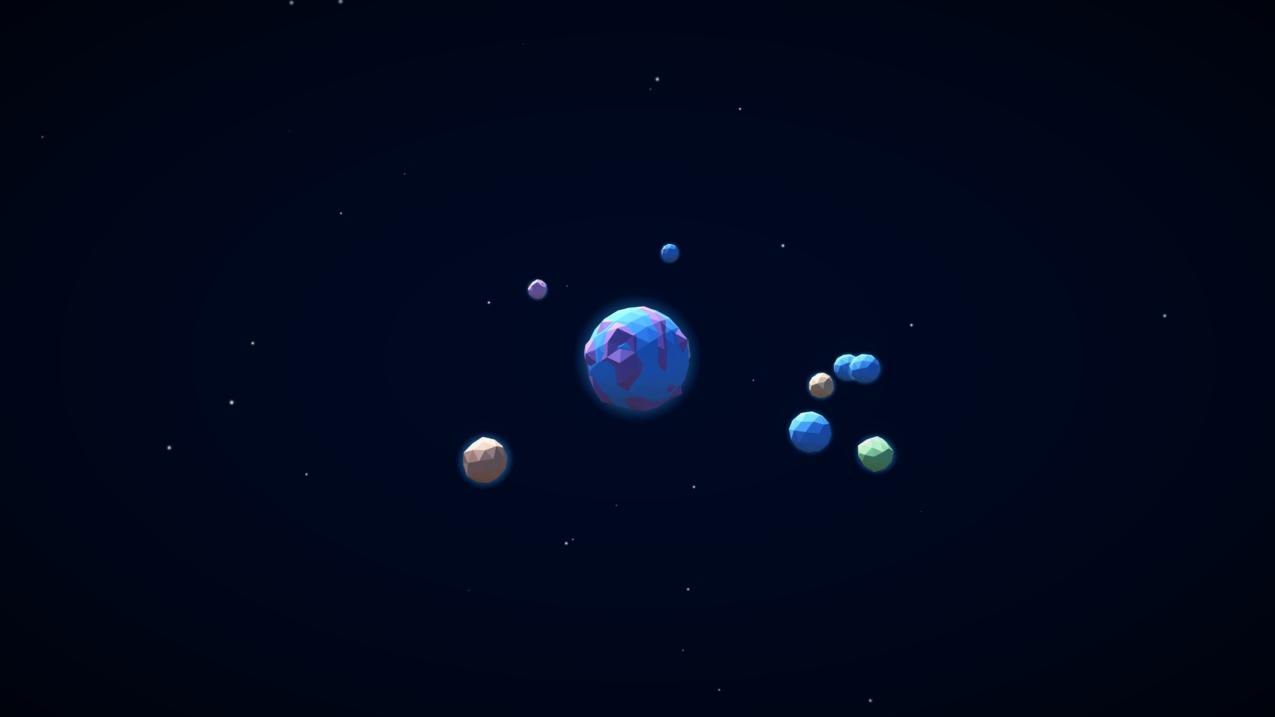 恒星,星系,行星,空间,3D,数字艺术