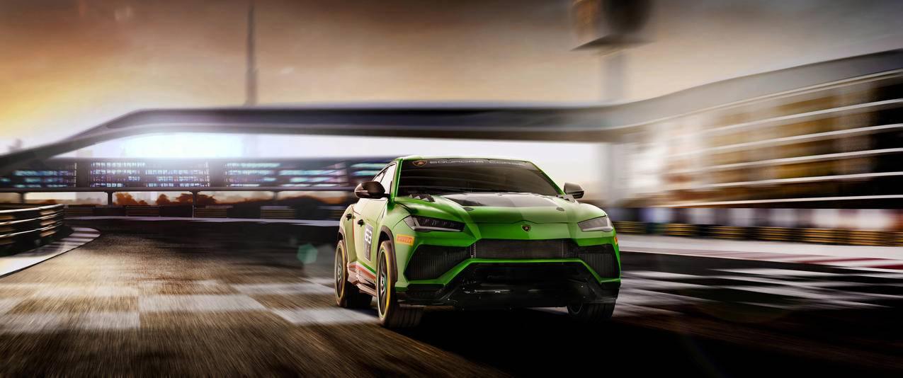 兰博基尼Lamborghini Urus STX 3440x1440壁纸