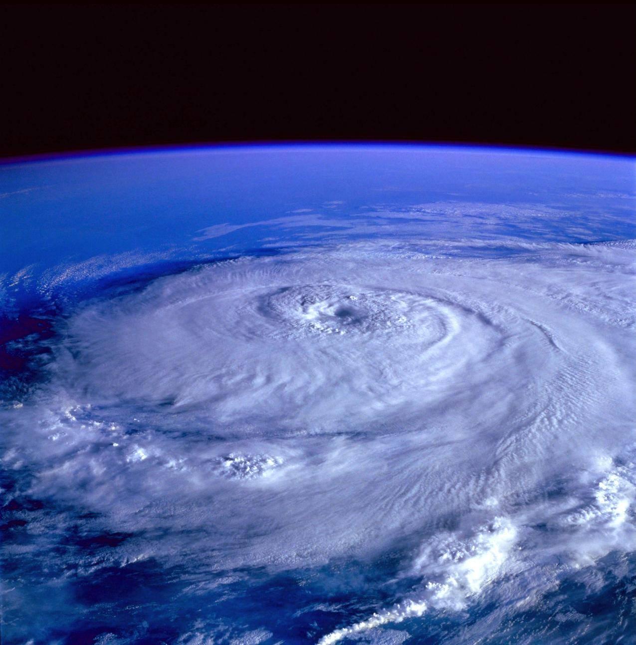 来自太空的风暴之眼