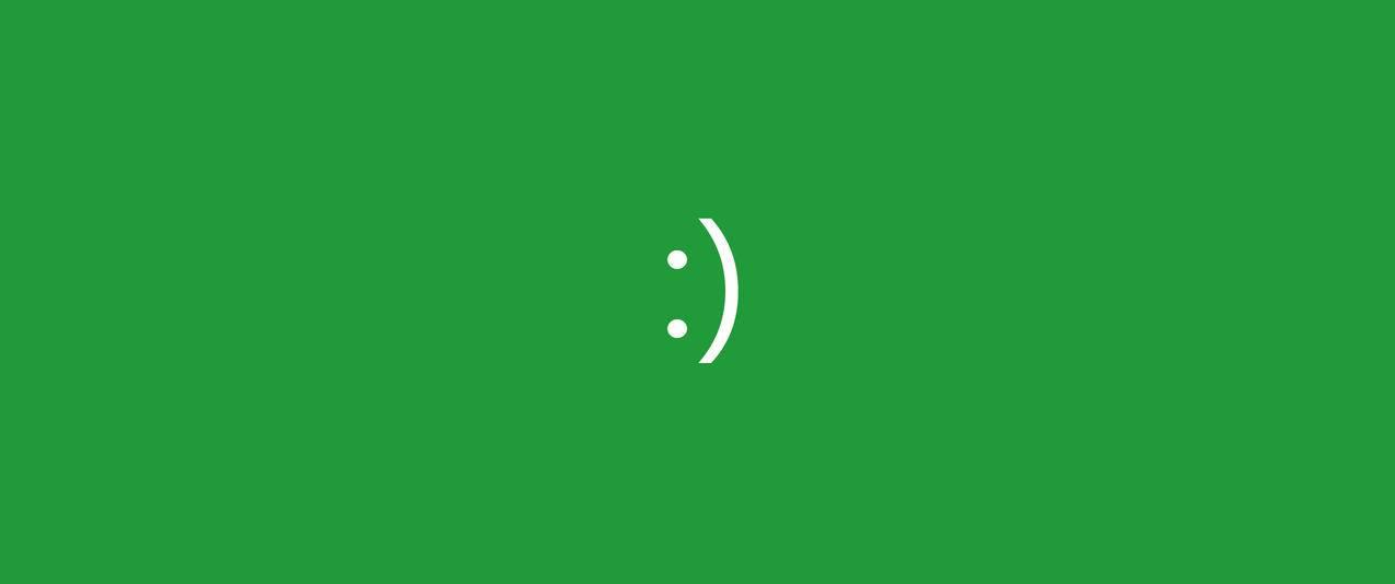 笑脸,简约,极简主义,曲面屏显示器3440x1440带鱼屏壁纸