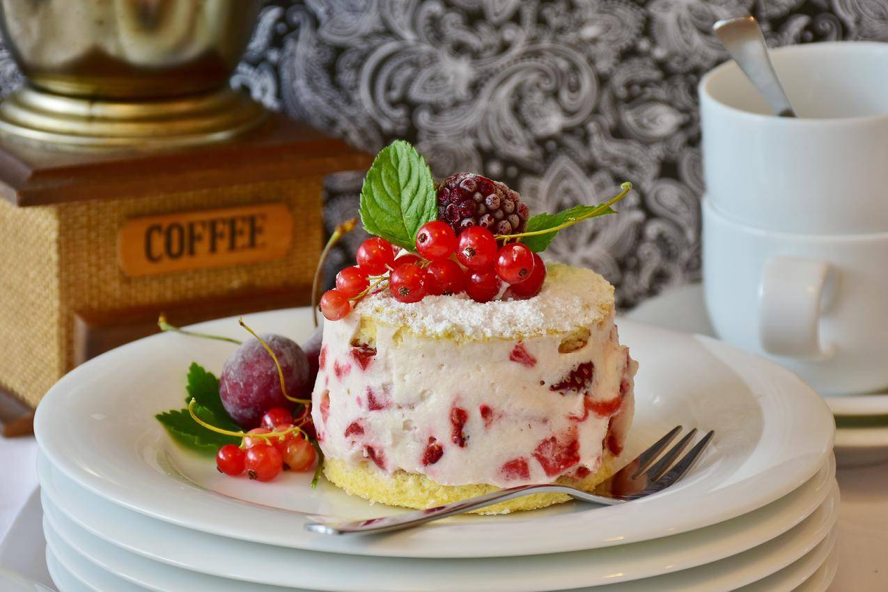 cc0可商用高清食物图片,食品,盘子,红色,咖啡