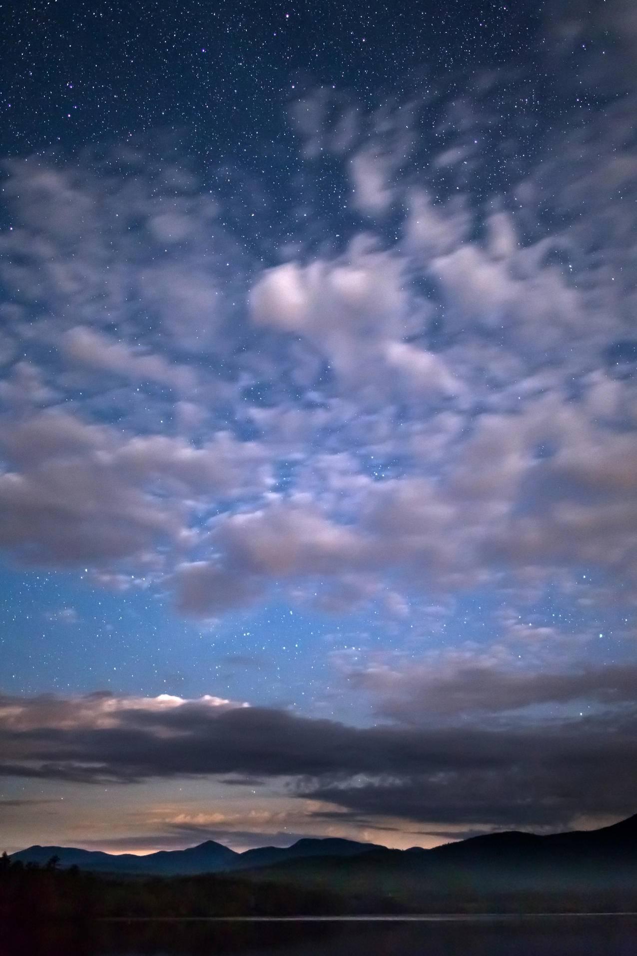 山,自然,天空,夜晚cc0可商用高清大图