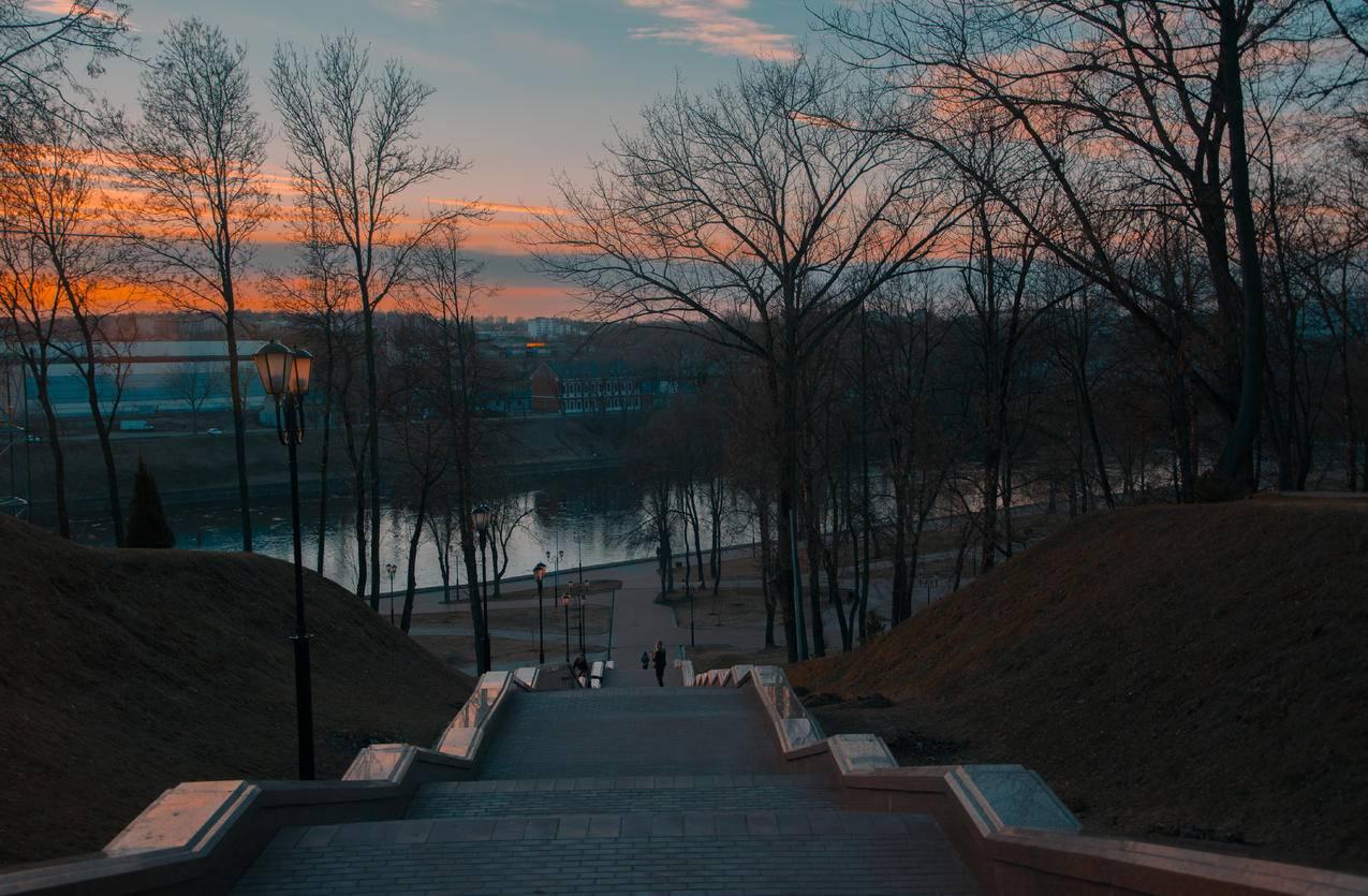 城市,景观,自然,天空cc0可商用高清图片