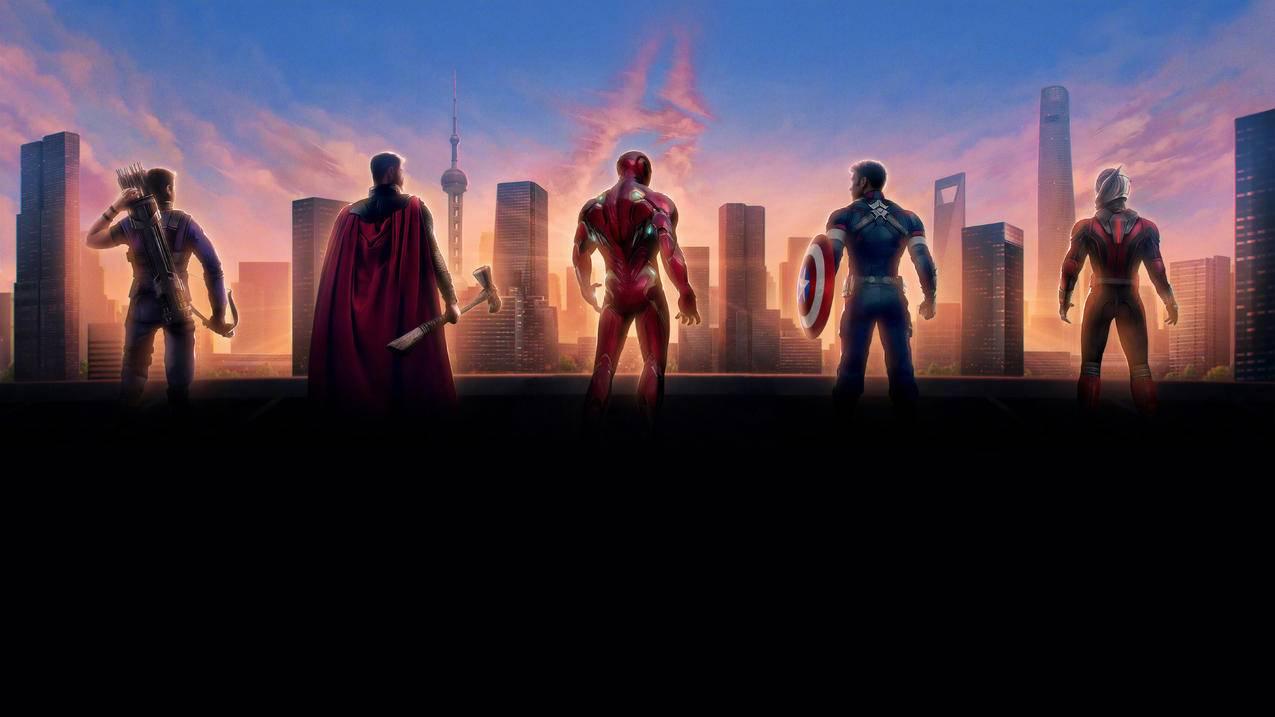 复联4,Avengers,Endgame,4k壁纸