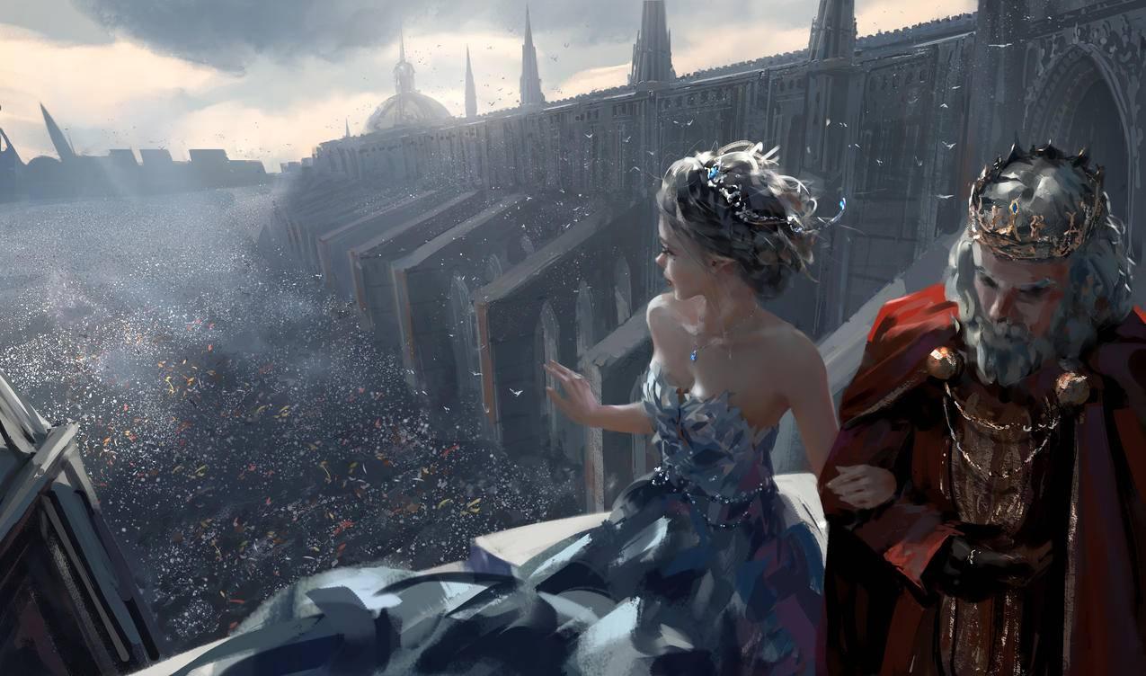 冰公主,国王,梦想,鬼刀4k壁纸