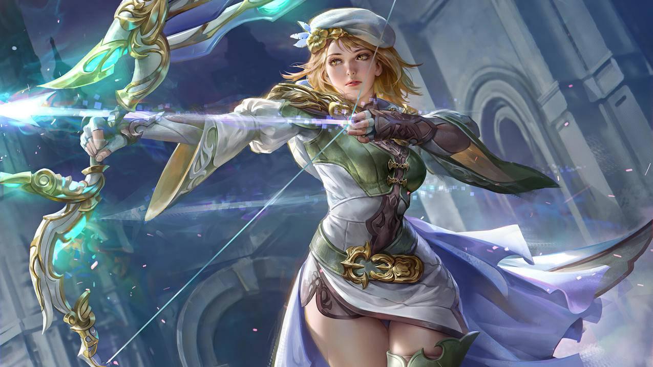 sarah,mobius,final,fantasy游戏美女4k壁纸3840x2160