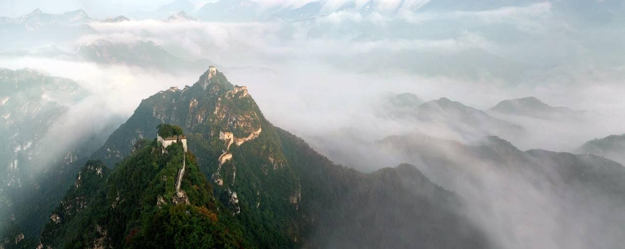 长城云海5K风景图片