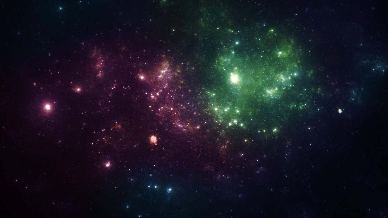 梦幻,星空,星星,4K桌面壁纸