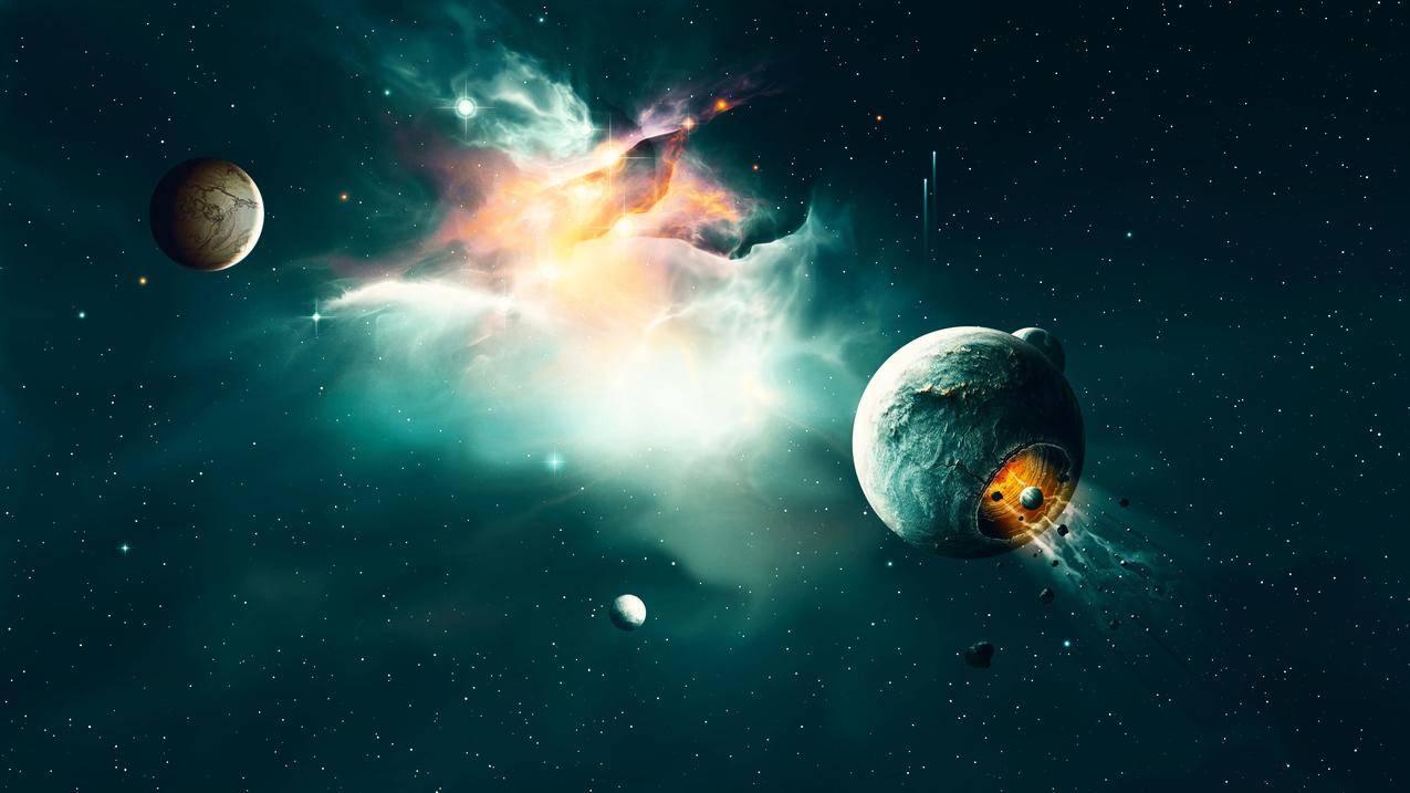 空间宇宙星系4K壁纸