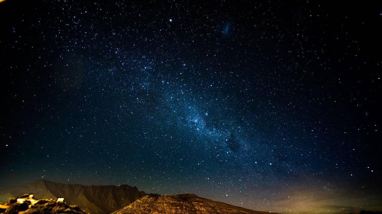 星空,星夜,光辉,灿烂,4k星空壁纸