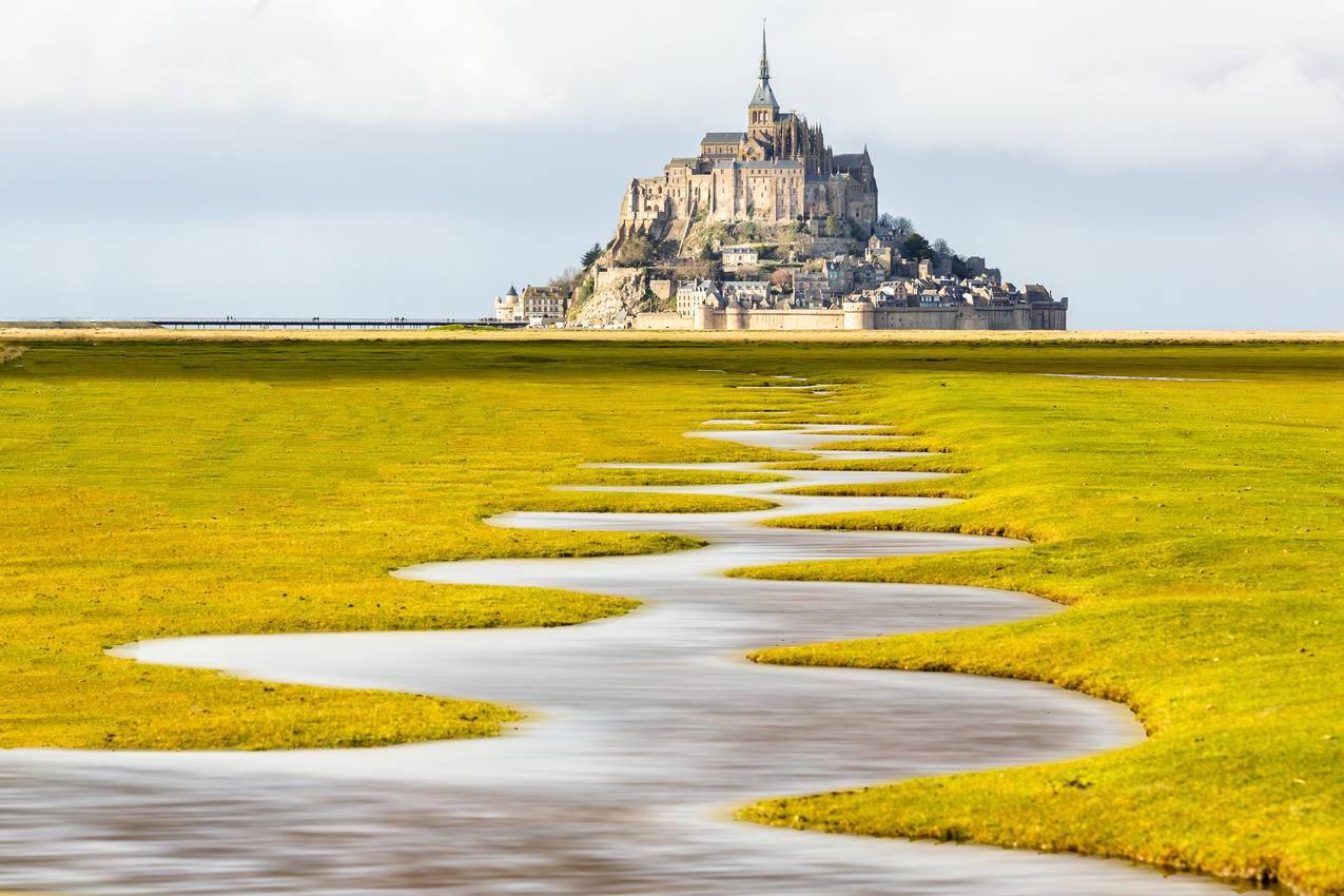 法国诺曼底风景4K壁纸