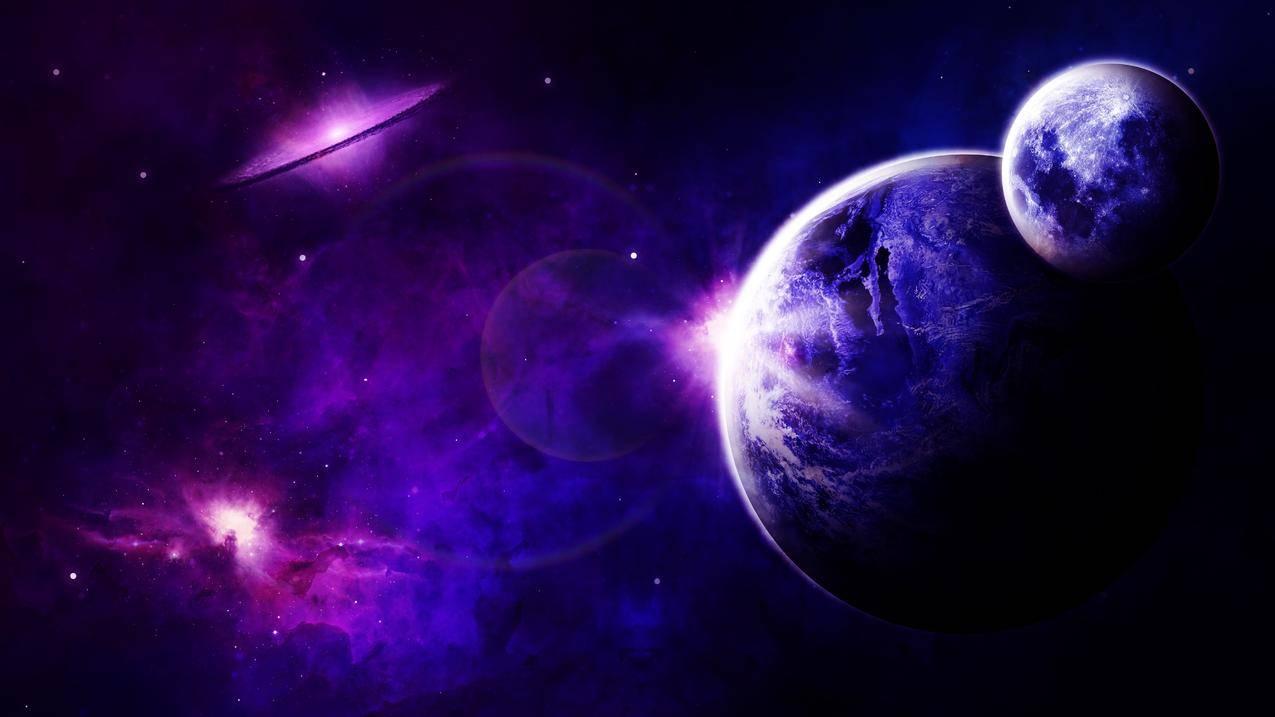 空间,宇宙,太空旅行,星系,7K壁纸