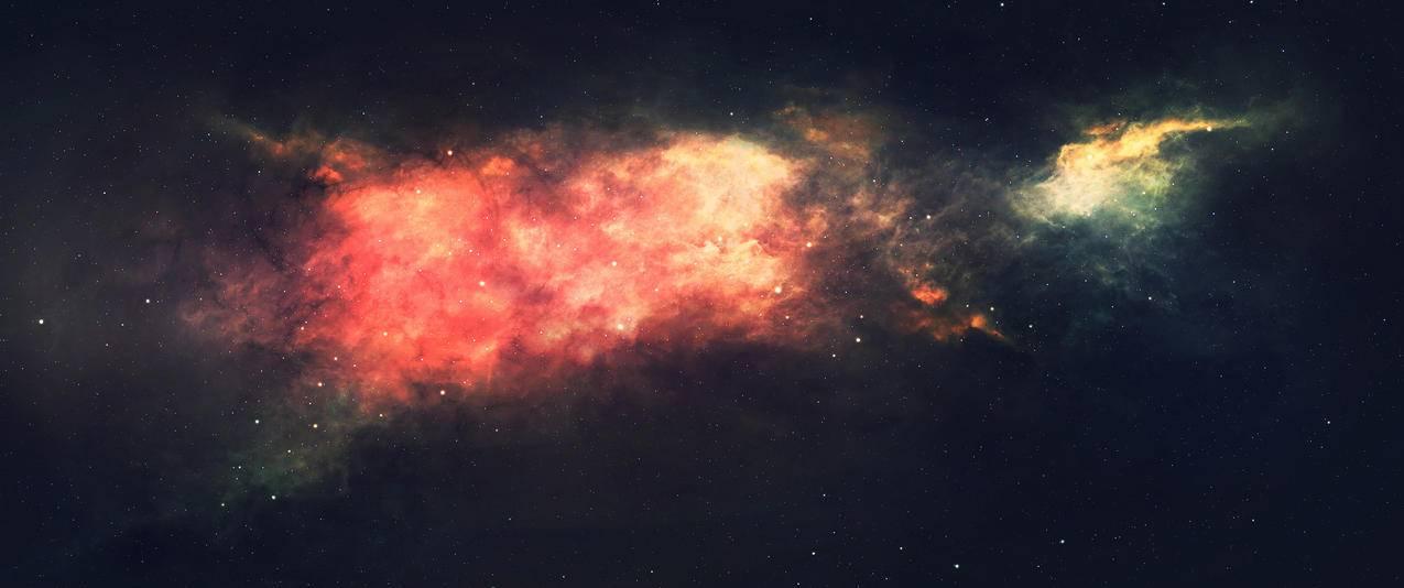 星空星际3440x1440壁纸