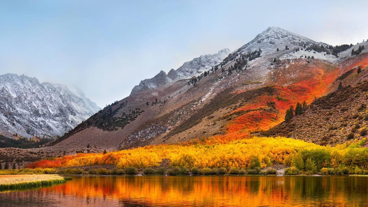 苹果MacBook,Pro,高山脉4K风景壁纸