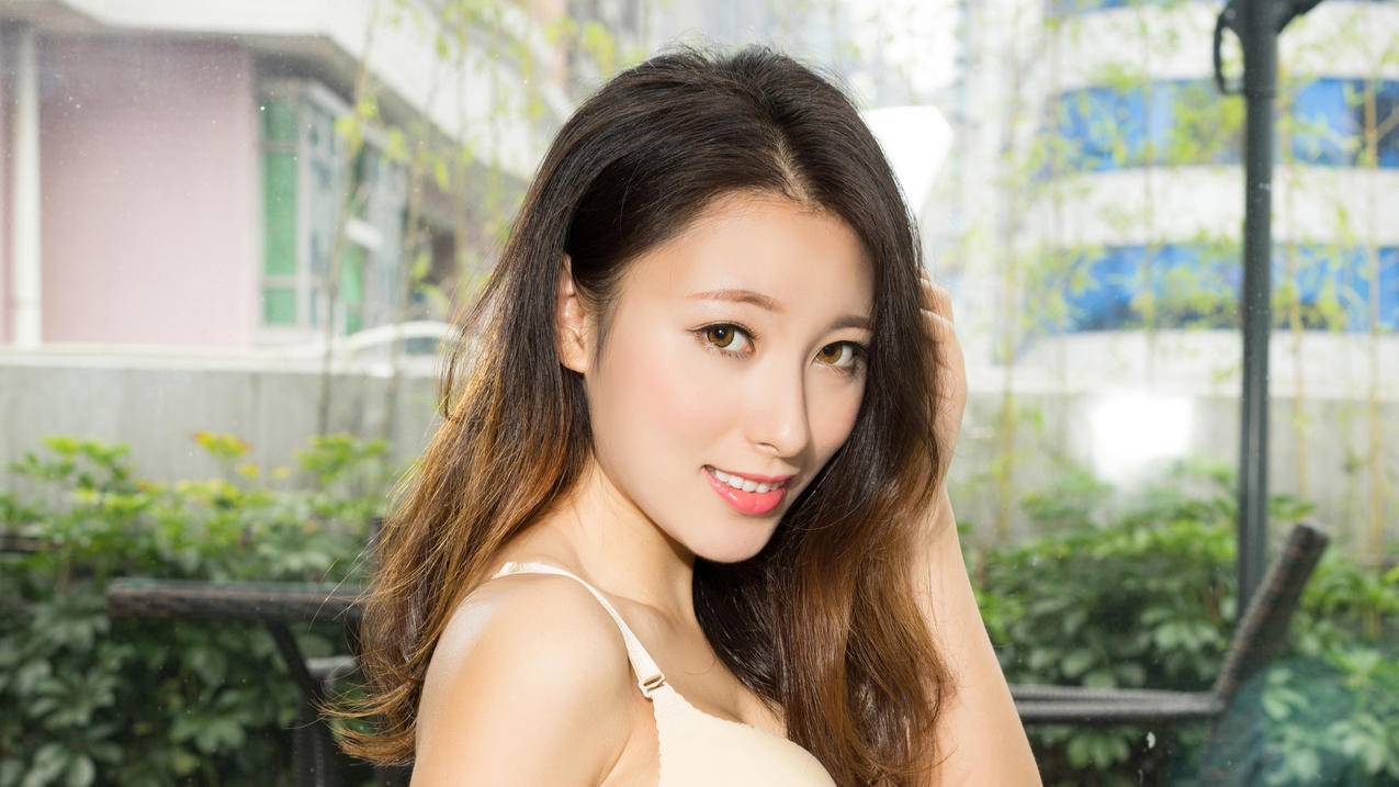 妮子,可爱美女模特写真3840x2160高清壁纸