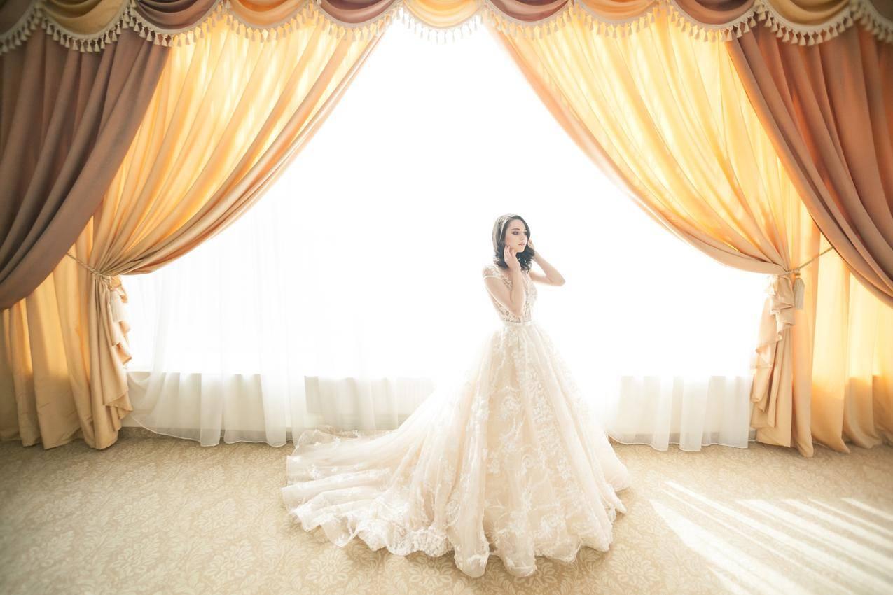 国外唯美婚纱照摄影4K美女壁纸
