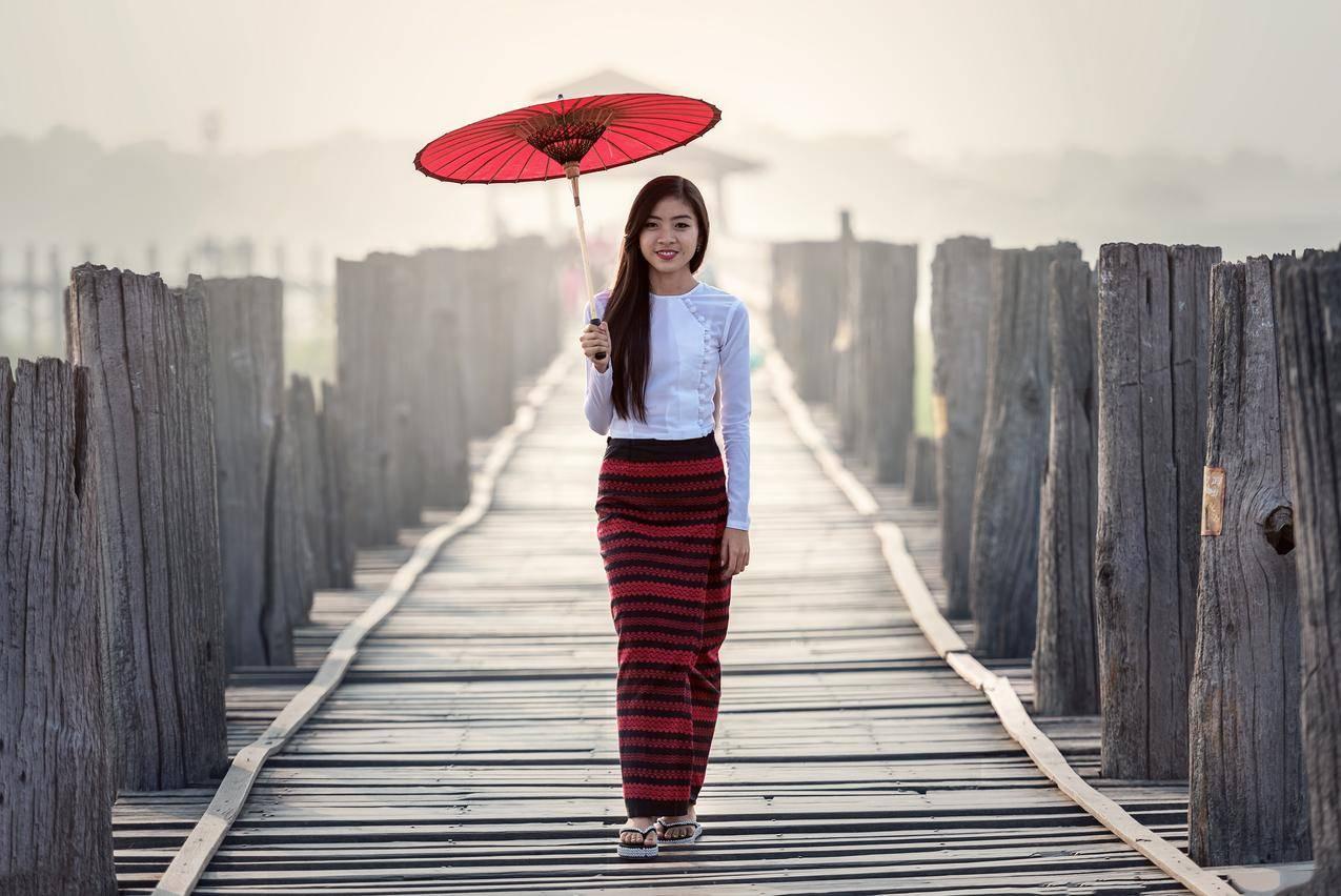 泰国,旅游,4K美女壁纸