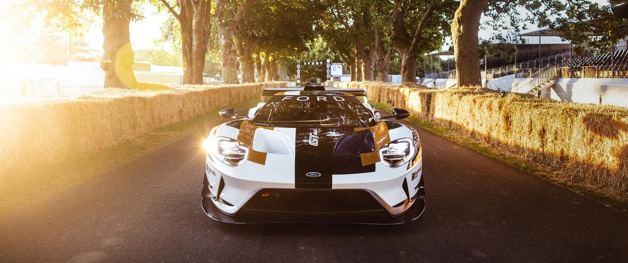 2019 Ford GT MK II 福特赛车3440x1440壁纸