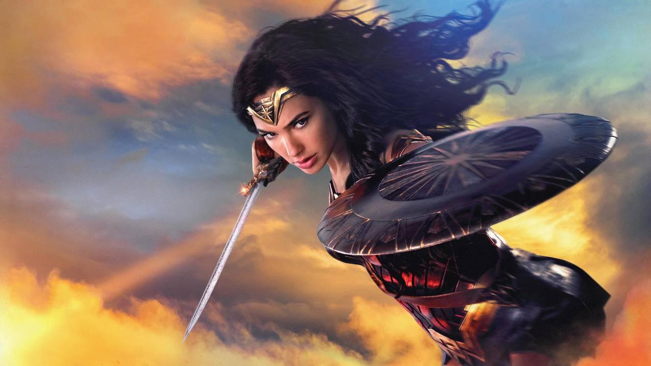 神奇女侠Wonder,Woman,盖尔加朵,4K壁纸