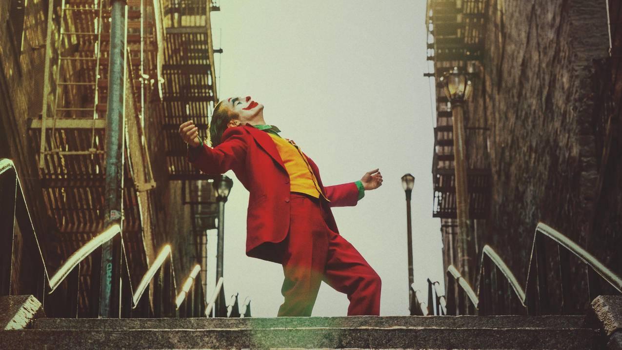 小丑的海报4k电脑壁纸3840x2160