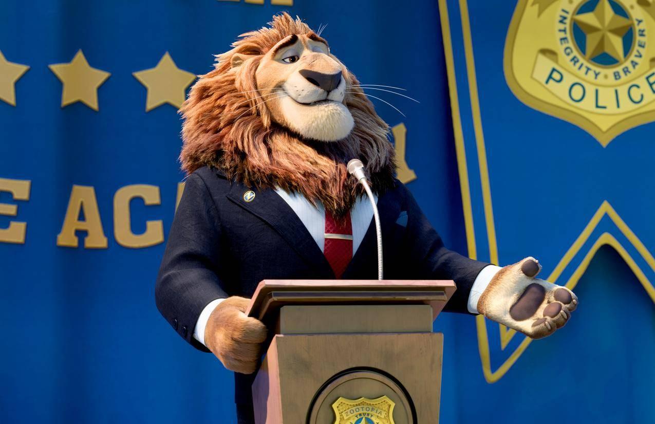 疯狂动物城,狮子5K壁纸