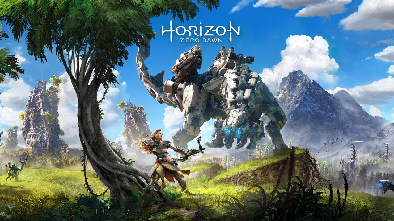 地平线黎明时分HorizonZero,Dawn4K游戏壁纸