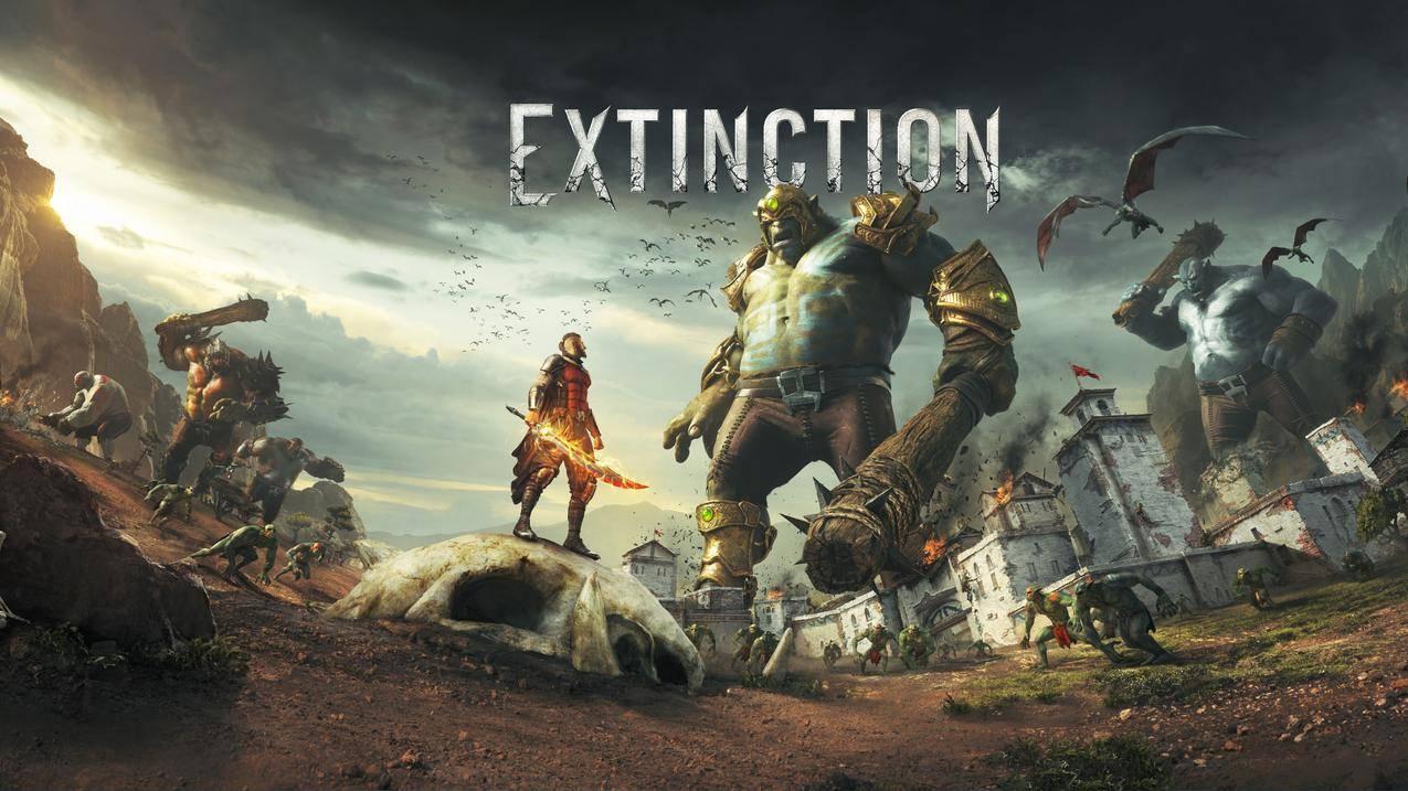 灭绝Extinction,4K游戏壁纸