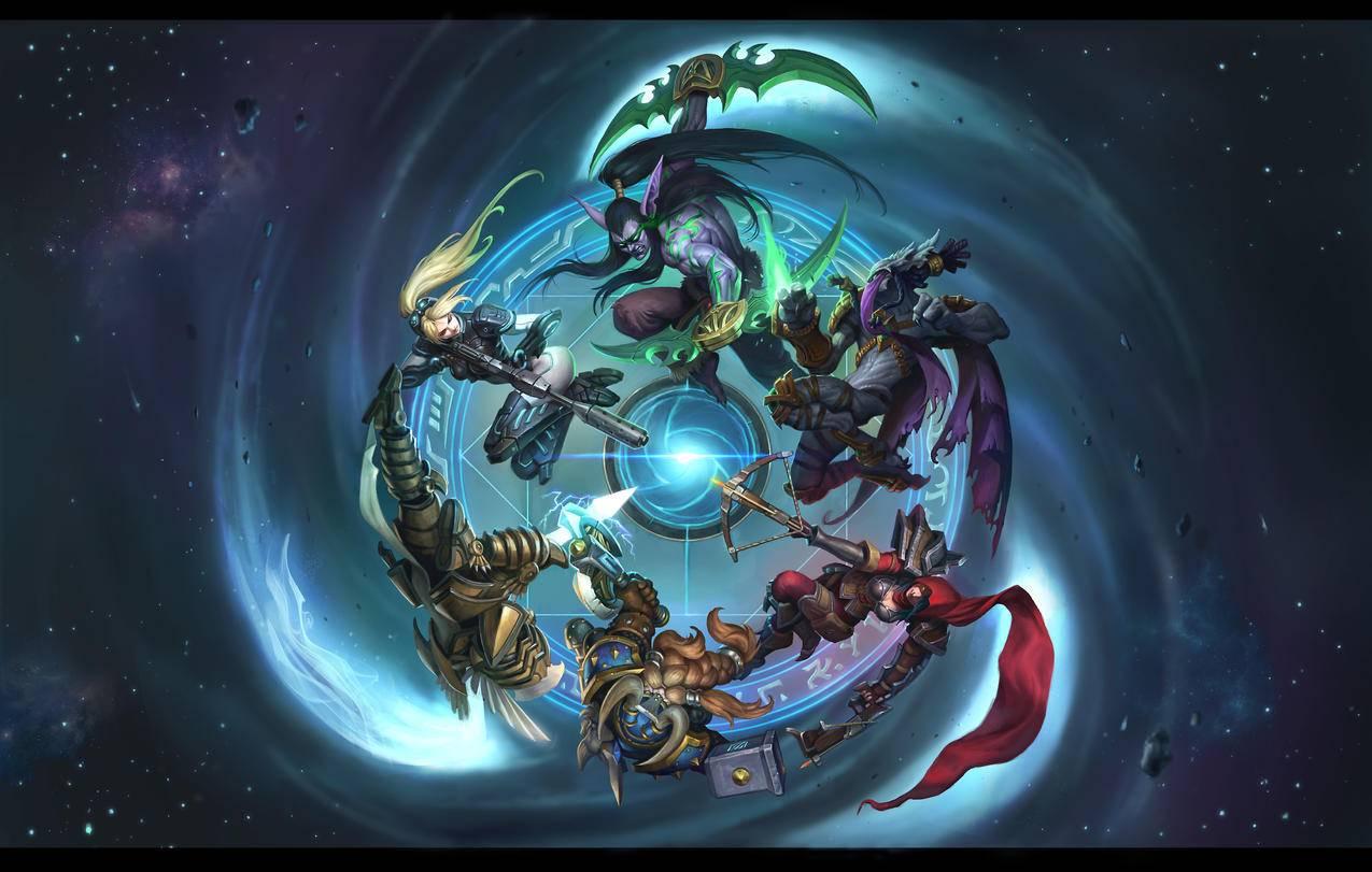 风暴英雄,魔兽世界4K游戏壁纸