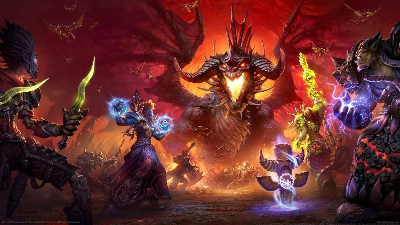 魔兽世界 World of Warcraft精美4k游戏原画壁纸