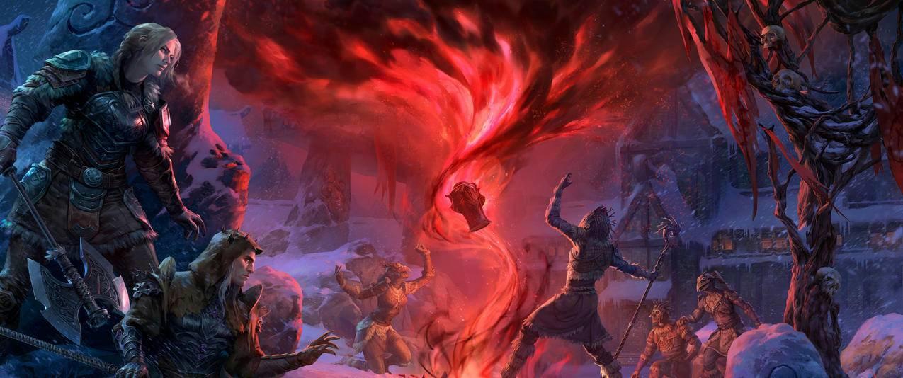The,Elder,Scrolls,Online_,Harrowstorm带鱼屏游戏壁纸3440x1440
