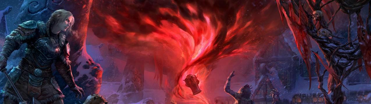 The,Elder,Scrolls,Online_,Harrowstorm双屏游戏壁纸5120x1440