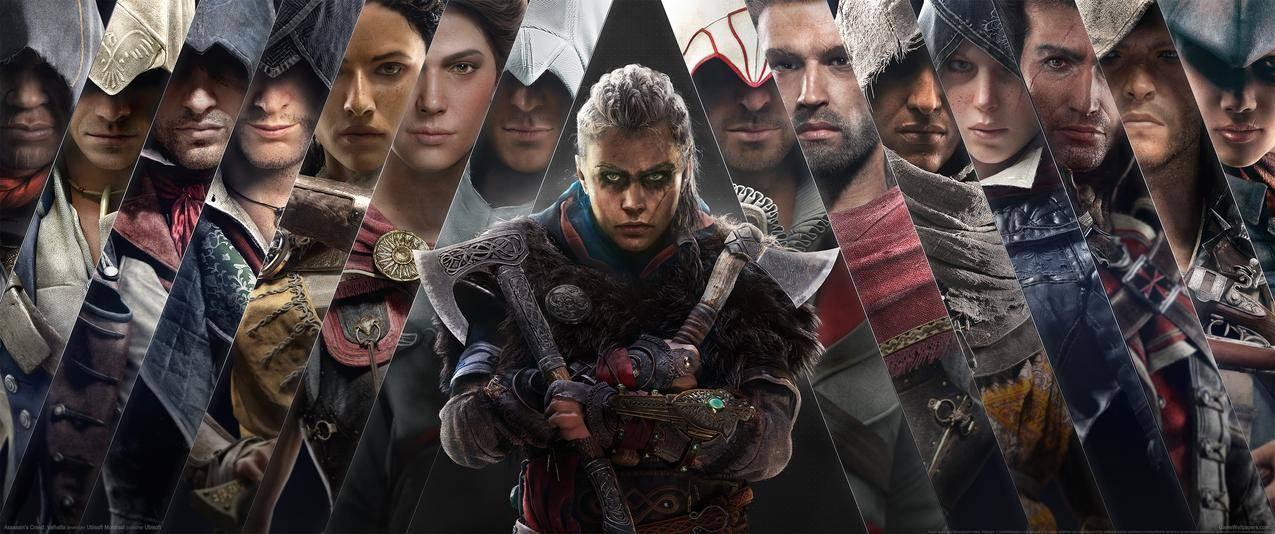 刺客信条英灵殿 Assassins Creed Valhalla 3440x1440带鱼屏壁纸 千叶网