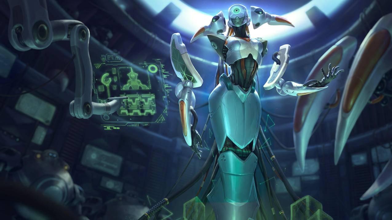 冰霜女巫,源代码,丽桑卓2,英雄联盟,4k桌面壁纸